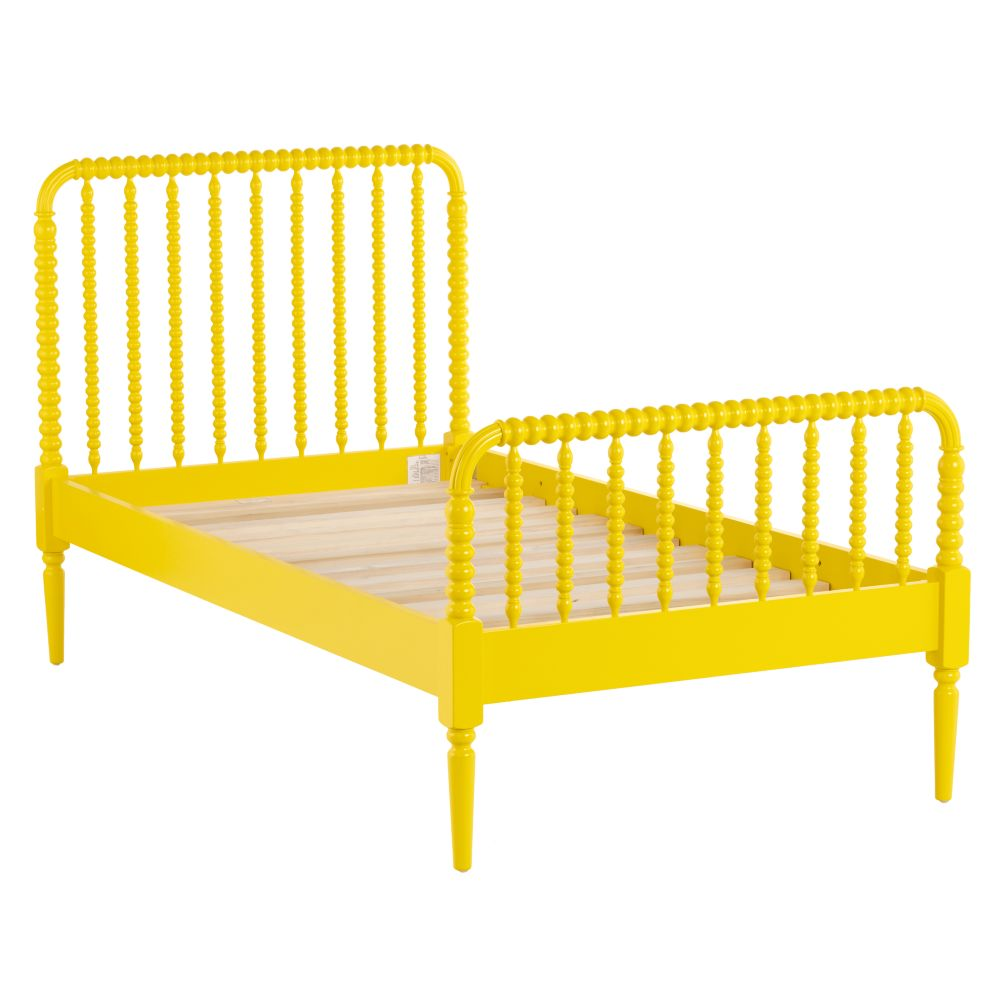 Twin Jenny Lind Bed (Yellow)