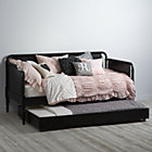 Black Jenny Lind Trundle Bed