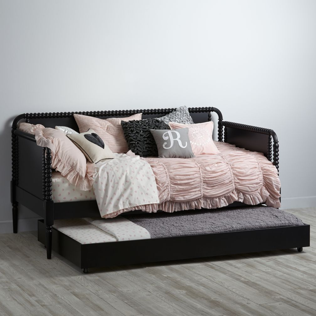 Jenny Lind Trundle Bed (Black)