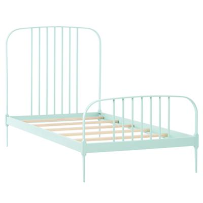 Twin Larkin Metal Bed (Mint)