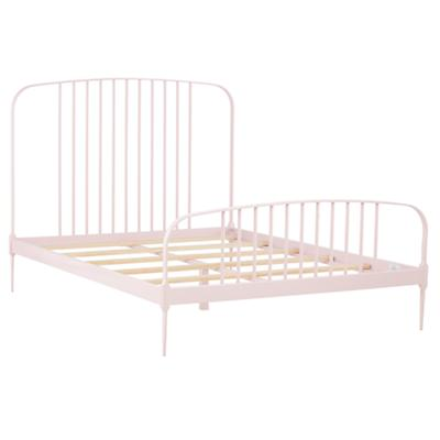 Full Larkin Metal Bed (Pink)