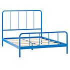 Full Blue Primary Bed