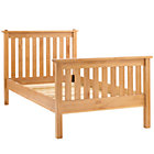 Twin Natural Simple Bed