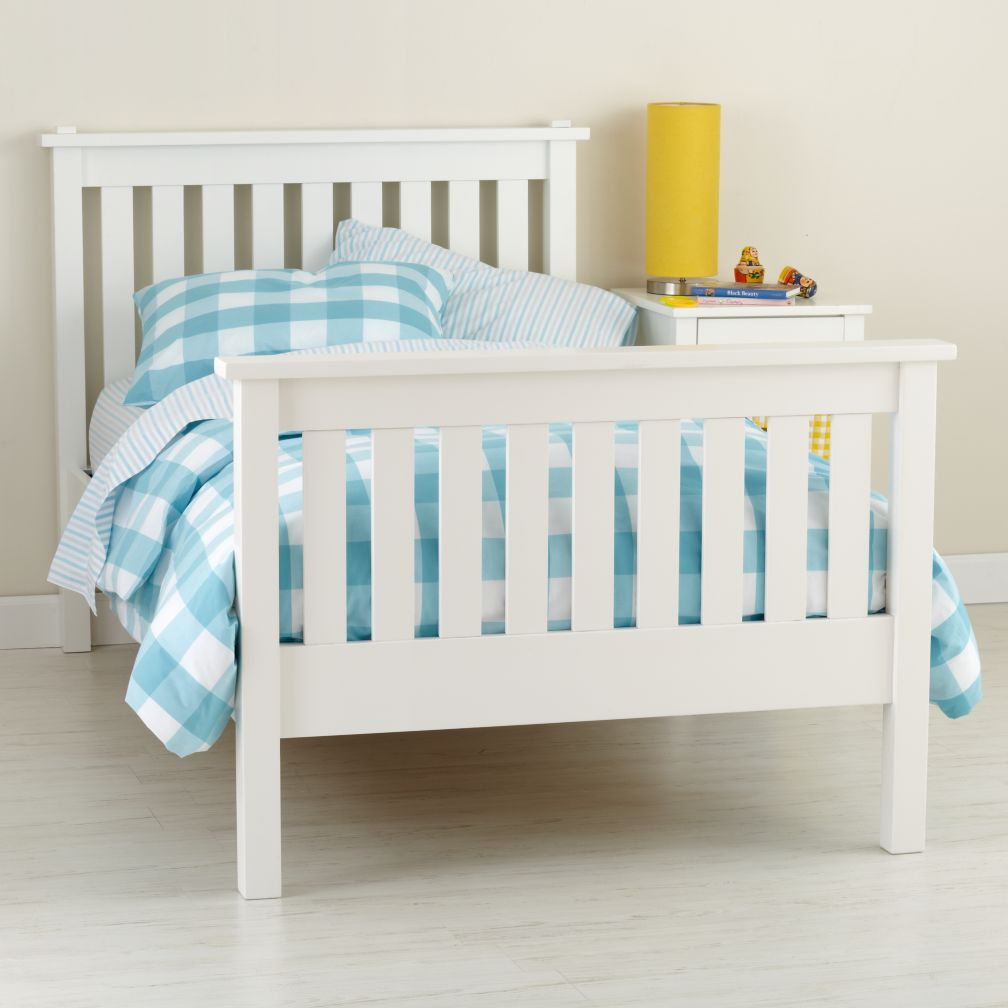 Simple Bed (White)