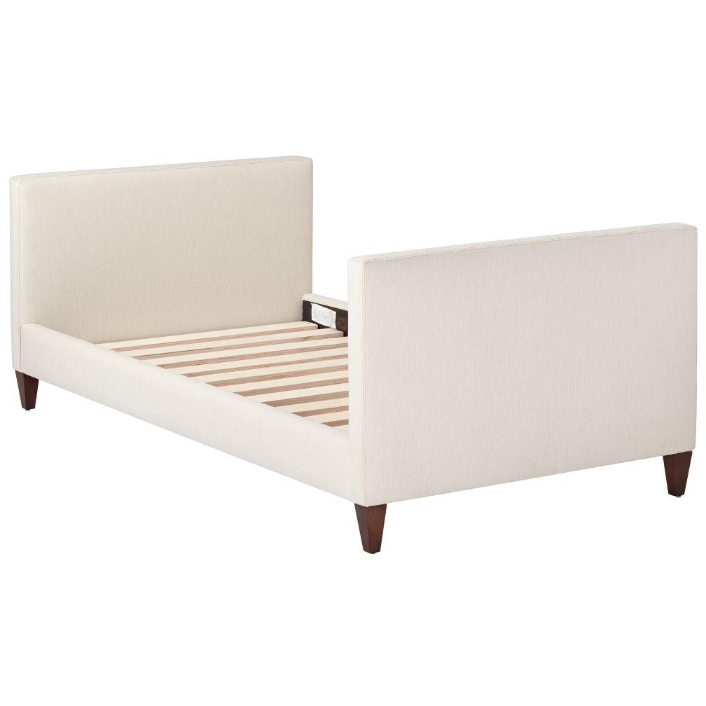 Silhouette Upholstered Daybed (Cream/Hot Pink)