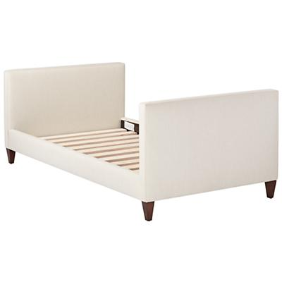 Silhouette Upholstered Daybed (Cream w/Hot Pink)