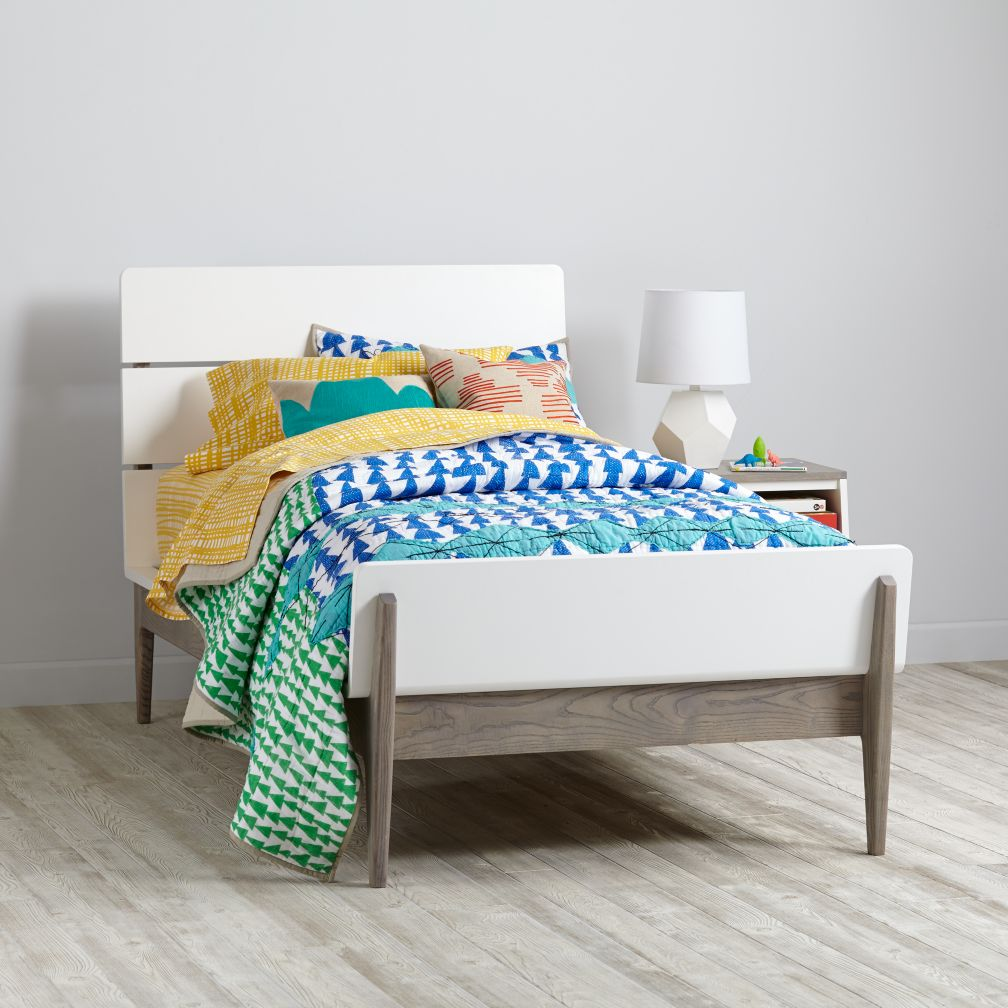 Two-Tone Wrightwood Bed