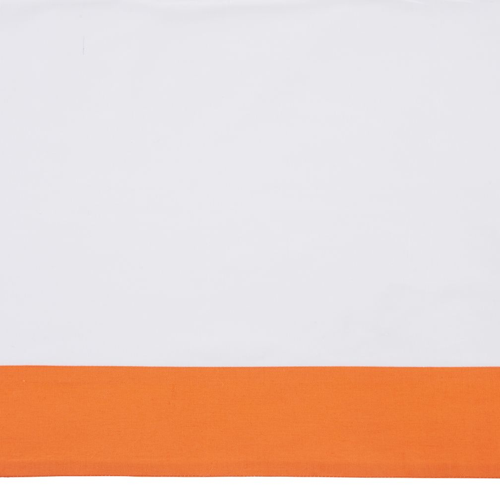Iconic Crib Skirt (Orange)