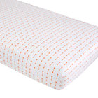 Orange Arrow Iconic Crib Sheet
