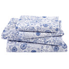 Full Twelve Bar Blues Floral Sheet Set (includes 1 fitted sheet, 1 flat sheet and 2 cases)