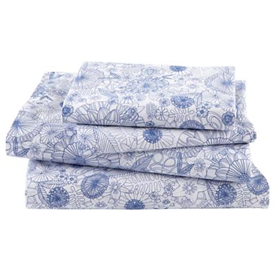 Twelve Bar Blues Floral Sheet Set (Full)