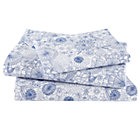 Twin Twelve Bar Blues Floral Sheet Set(includes 1 fitted sheet, 1 flat sheet and 1 case)