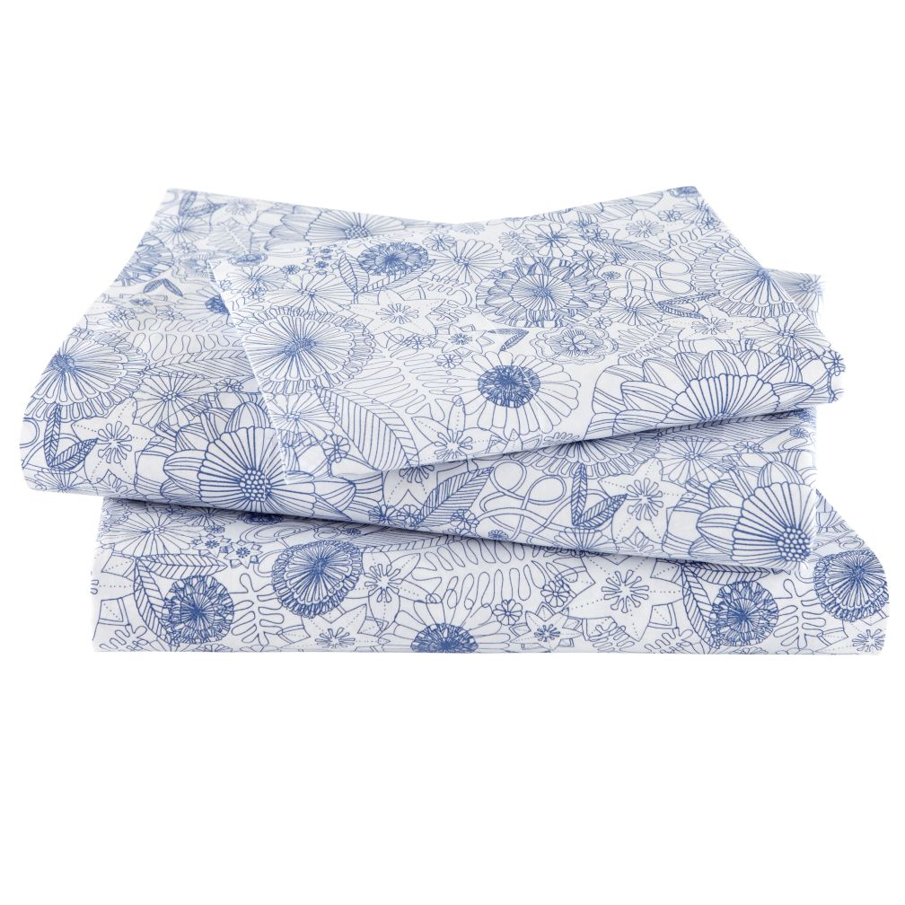 Twelve Bar Blues Floral Sheet Set (Twin)