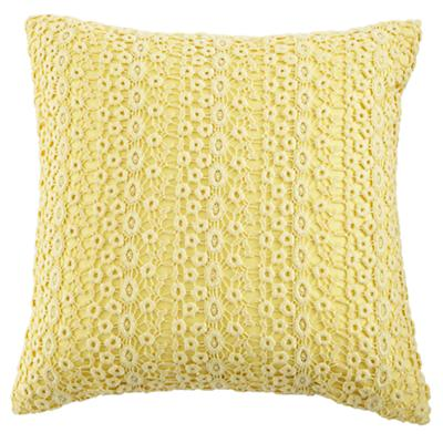 Lace Pillow (Yellow)
