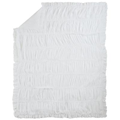 Twin Antique Chic Duvet Cover (White)