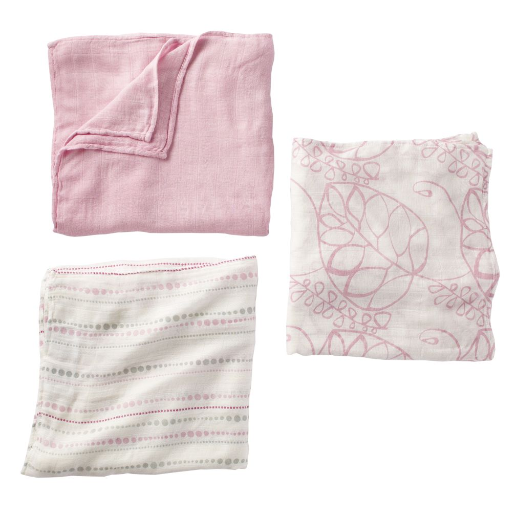 It&#39;s a Wrap Bamboo Swaddling Blankets (Pink)
