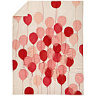 Full-Queen Surprise Pink Party Balloon Quilt