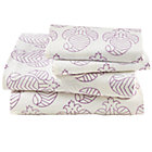 Queen Purple Bazaar Sheet Set(includes 1 fitted sheet, 1 flat sheet and 2 cases)