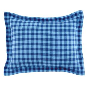 Indie Plaid Flannel Sham