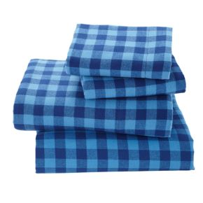 Indie Plaid Flannel Sheet Set