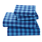 Full Indie Plaid Flannel Sheet Set
