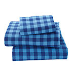Twin Indie Plaid Flannel Sheet Set