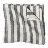 Bamboo Blanket (Black Stripe)
