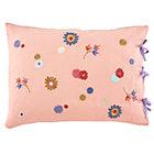 Pink Bouquet Linen Sham