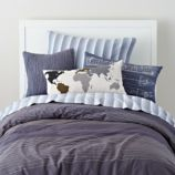 Faculty Mixer Embroidered Duvet Cover