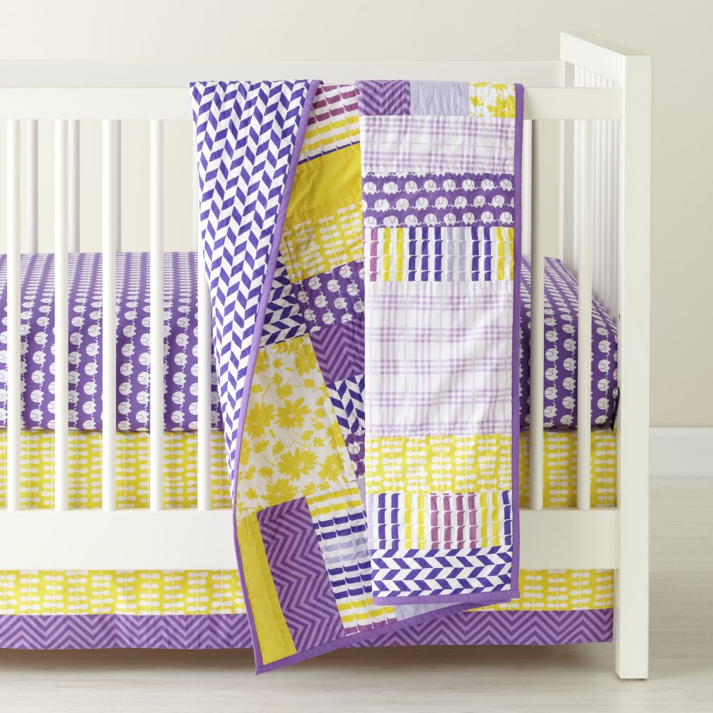 Not Your Grandma's Crib Bedding