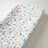 Alphanumeric Changing Pad Cover