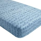Aquatic Crib Fitted Sheet