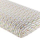Crib Fitted Sheet (Circus Banner)