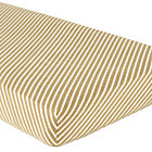 Stripe Crib Fitted Sheet