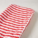 Candy Stripe Changing Pad Cover (Red)