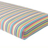Candy Stripe Crib Sheet (Multi)