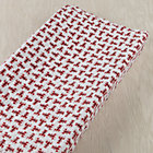 Red Lobster Print Changing Pad Cover