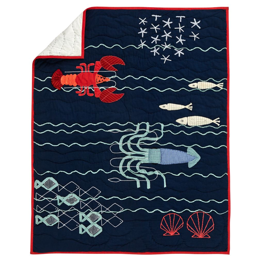 Catch of the Day Crib Quilt