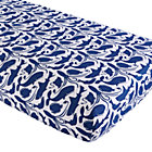 Deep Blue Sea Animal Fitted Crib Sheet