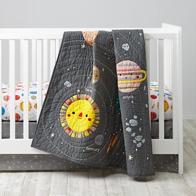 Deep Space Crib Bedding The Land Of Nod