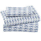 Blue Fish Toddler Sheet Set(includes 1 fitted sheet, 1 flat sheet and 1 case)