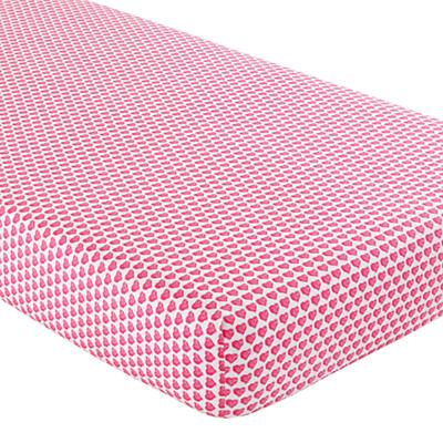 The Land of Nod | Crib Blankets: Pink Crib Blankets in Baby Quilts ...