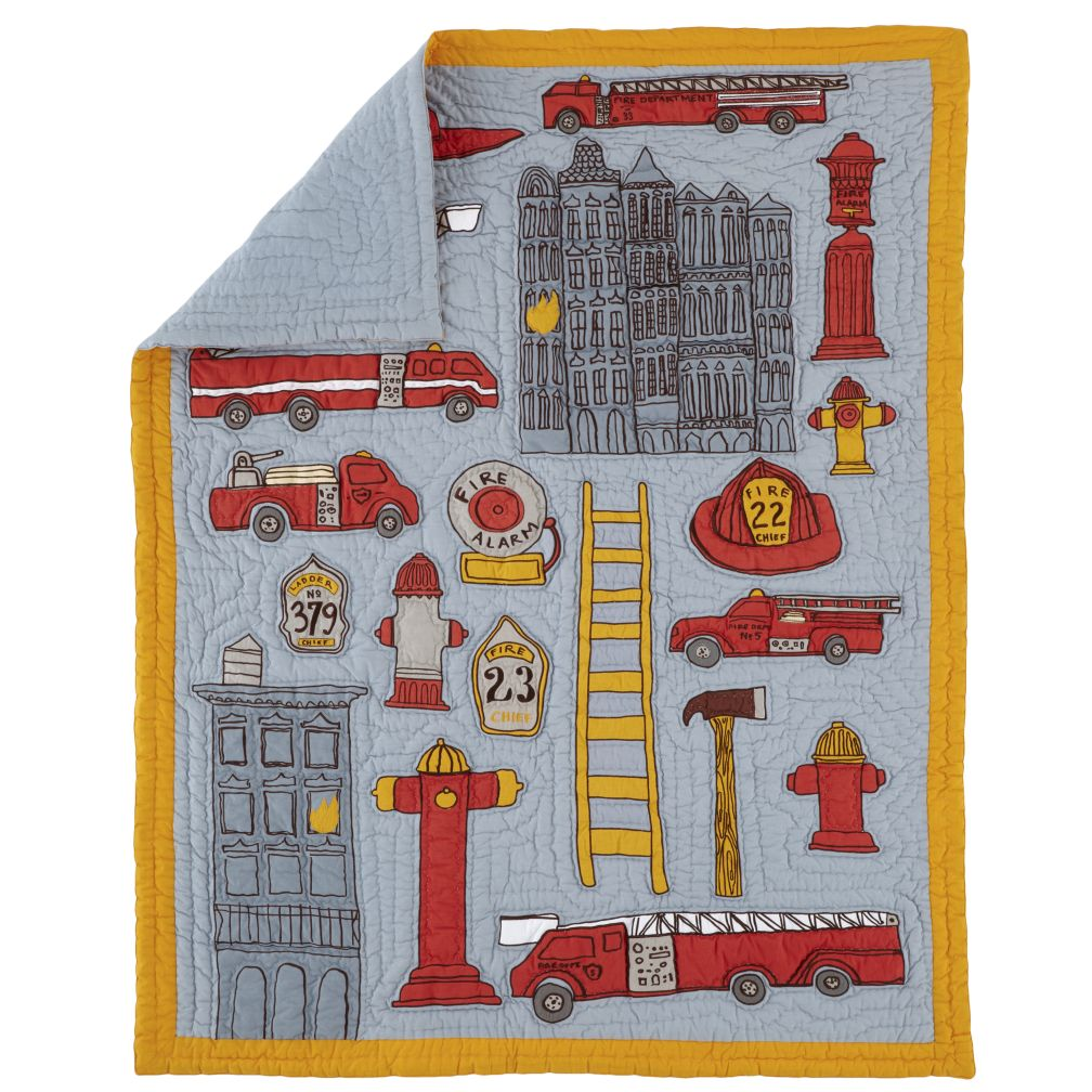 Fire Cadet Crib Quilt