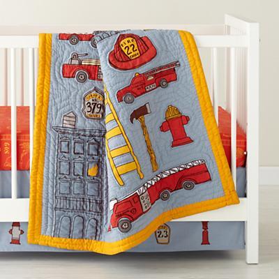 Fire Cadet Crib Skirt
