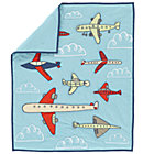 Airplane Crib Quilt