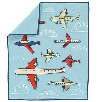 Come Fly With Me Crib Quilt