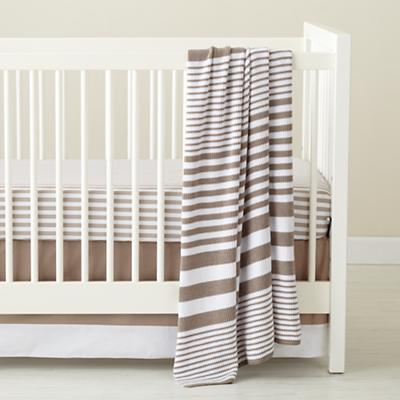 In the Mix Crib Bedding (Khaki)