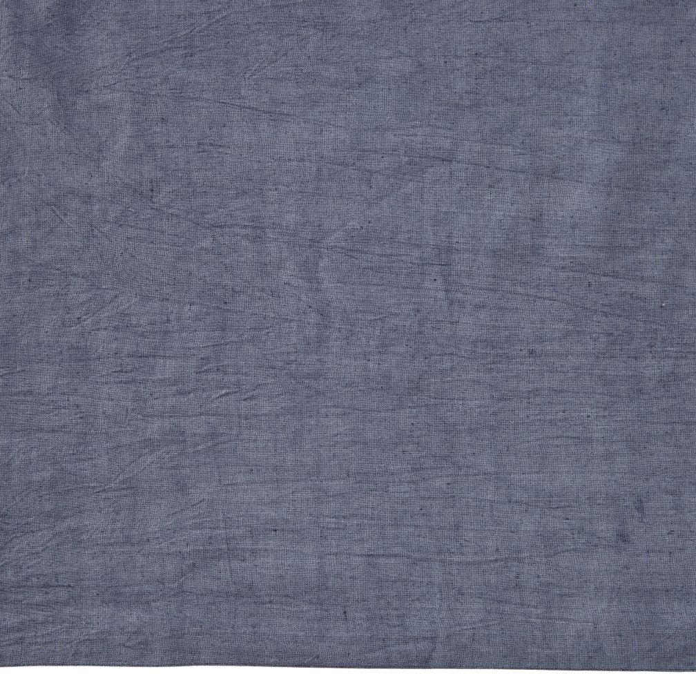 Fresh Linen Crib Skirt (Blue)
