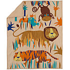 Lions & Tigers Jungle Crib Quilt