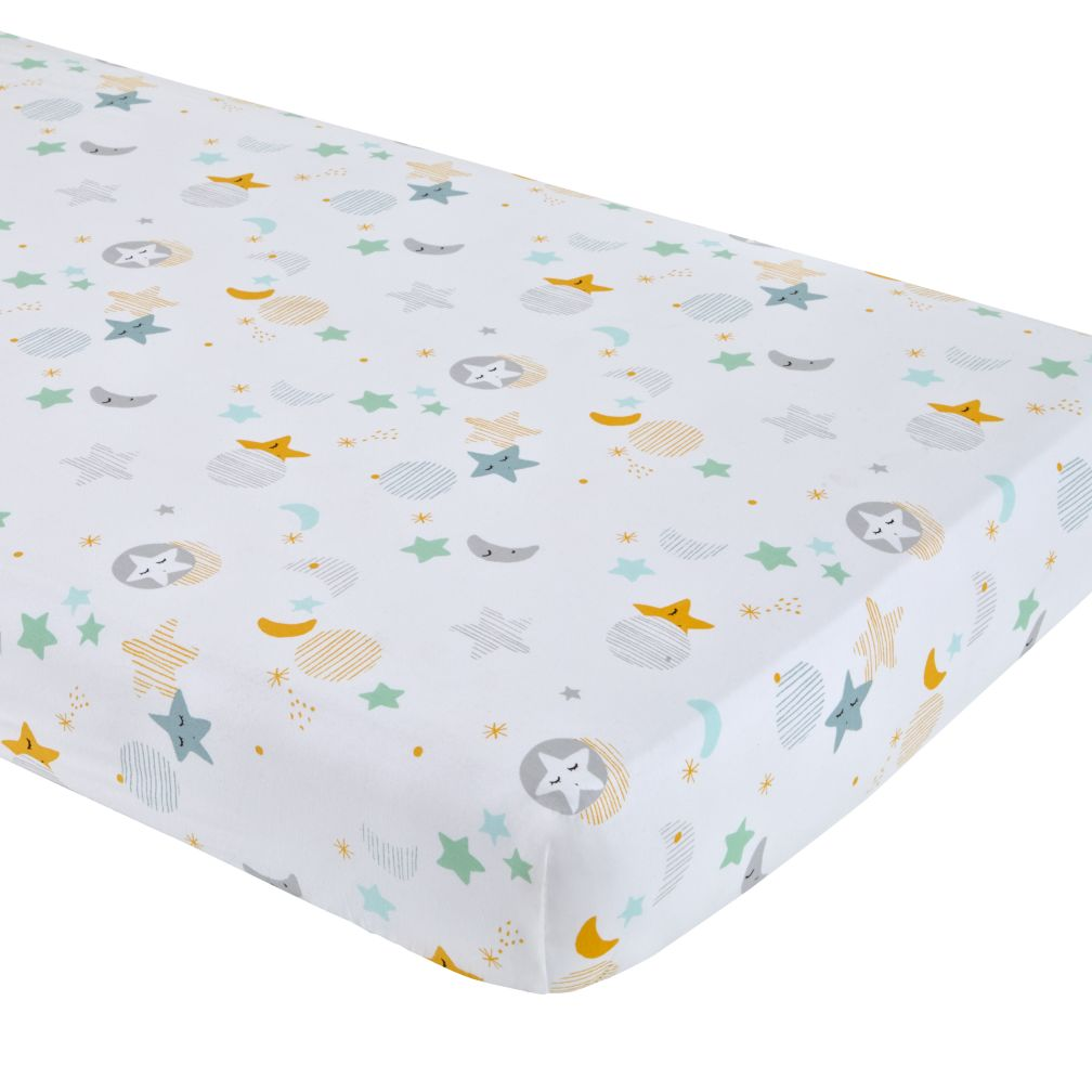 Lullaby Fitted Crib Sheet